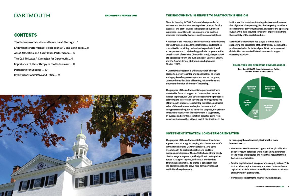 Dartmouth Endowment Report 2018 Spd3