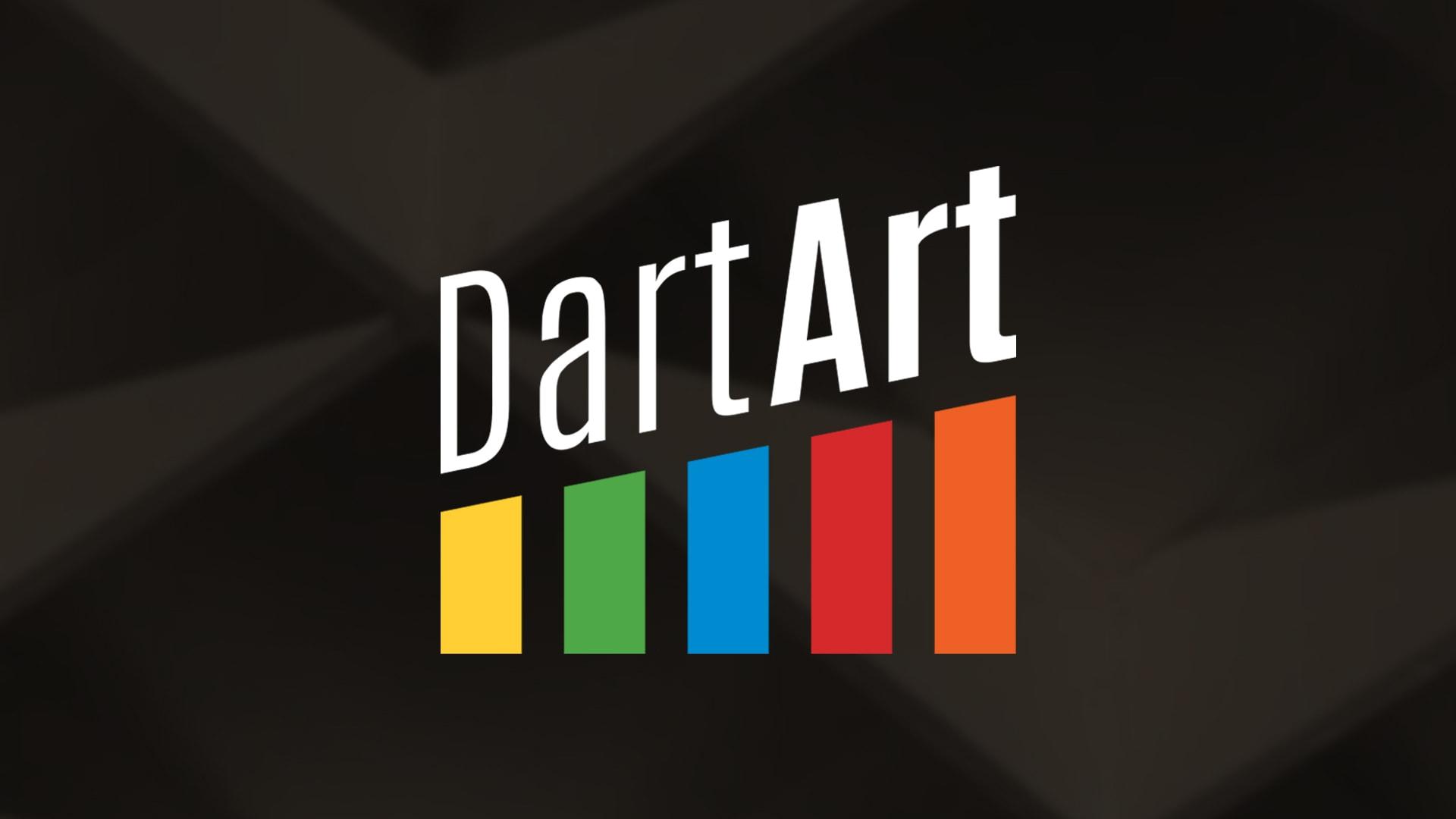 Dartart Video Series Logo Fw