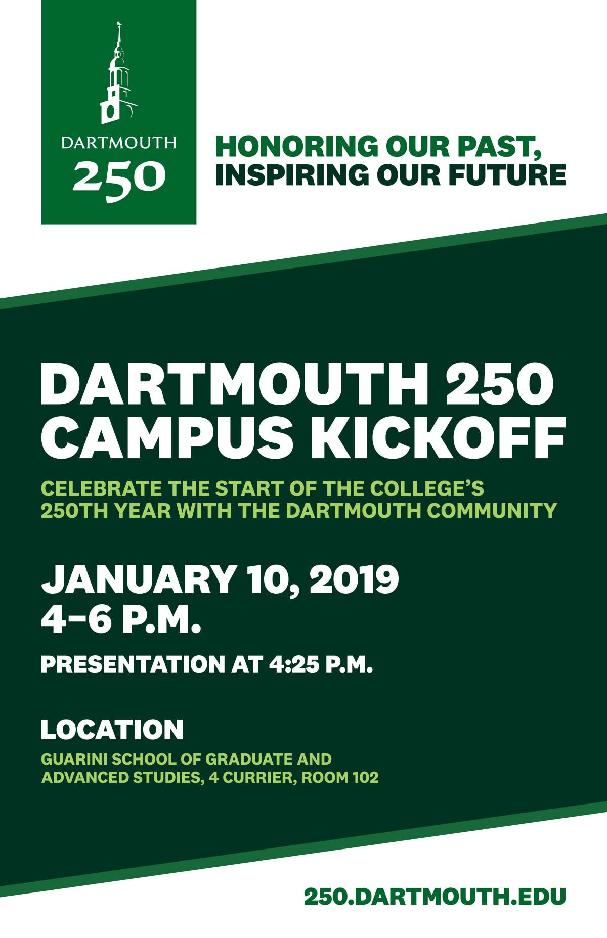 Dartmouth 250 Poster