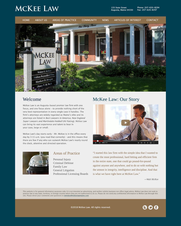 Mckeelaw Homepage