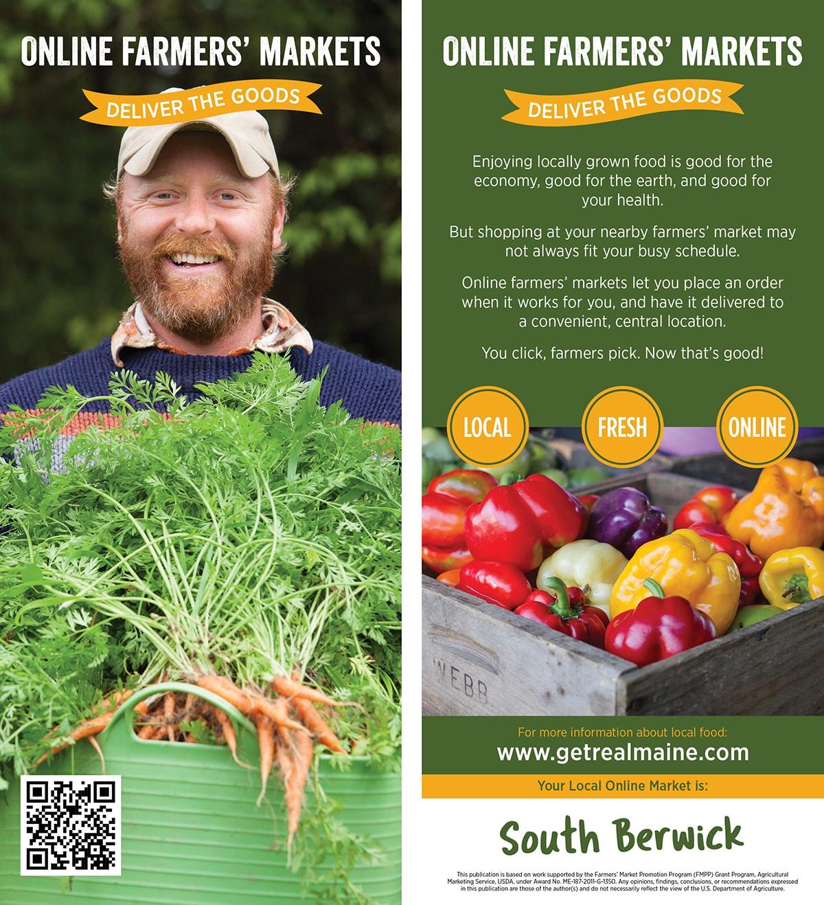 Online Farmers Markets Rackcard 1 Sw